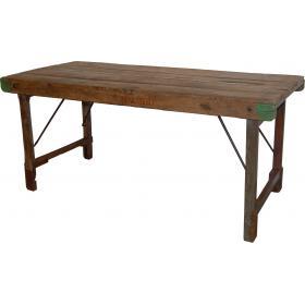Pravý starý jedálenský stôl