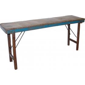 Konzolový stolík - zinkový povrch