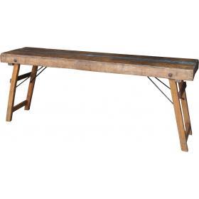 Indický konzolový stolík