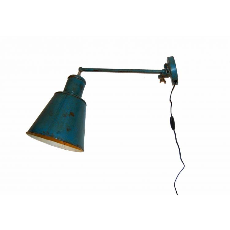 Nástenná lampa vo vintage štýle
