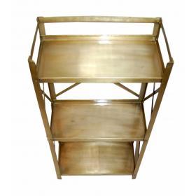 Iron rack - brass