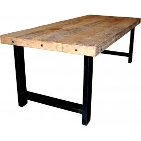 Starý jedálenský vintage stôl