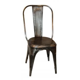 Lesklá vintage stolička