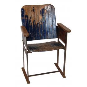 Old vintage cinema chair