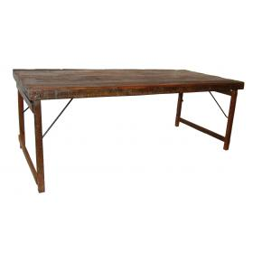 Starý vintage jedálenský stôl