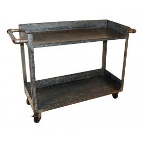 Vozík/ obchodný pult vyrobený z pozinkovanej ocele
