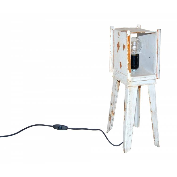 Table Lamp of old industrial part