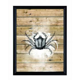 Obraz s rámom - Krab - malý