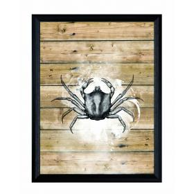 Picture with frame - Crab - Small