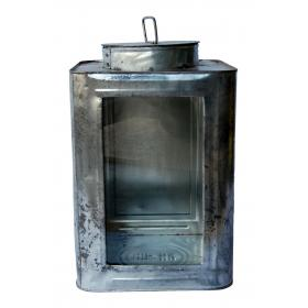 Lantern with a worn look