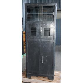 Old raw cabinet - black
