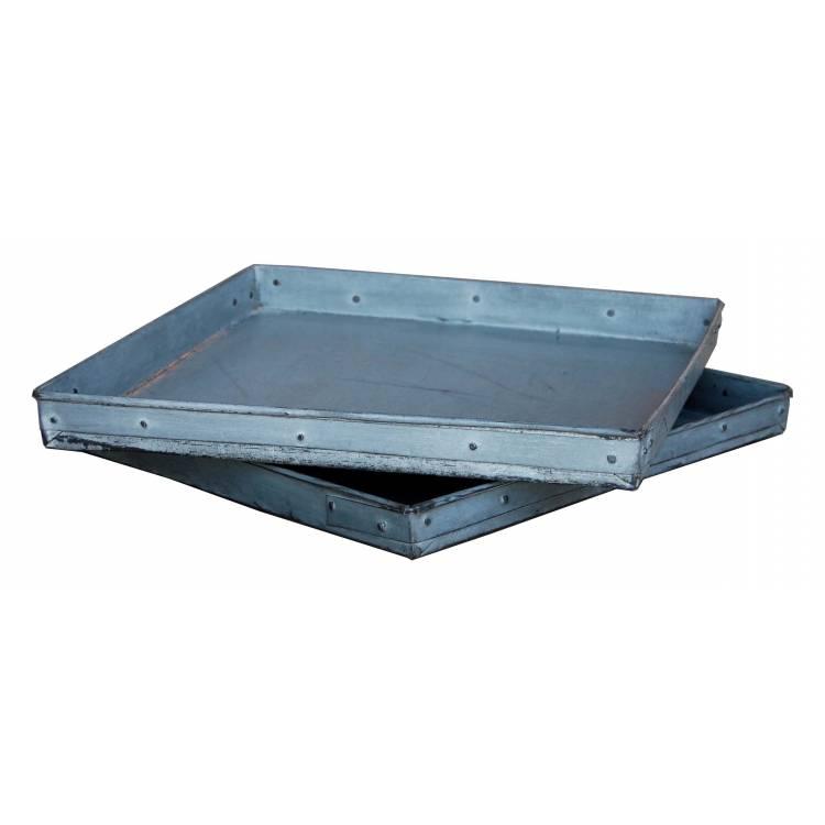 Rustic iron tray