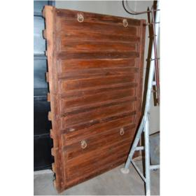 "Wall decoration of raw and old ""wooden door"" – large"