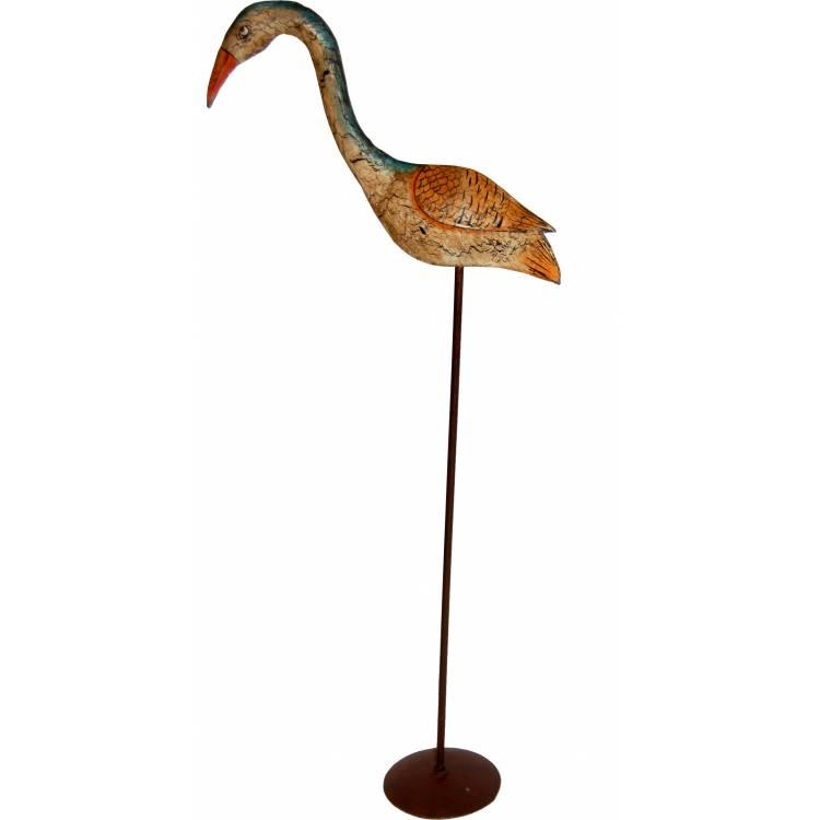 Vták s jemnou patinou