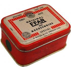 Nostalgická originálna historická krabica