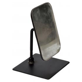 Recycling table mirror from old TukTuks - black frame