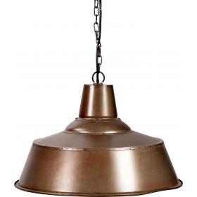 Závesná lampa s chladnou povrchovou úpravou - jasná s práškovým nástrekom