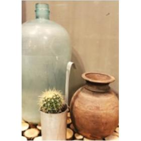 1 L zinc jug with handle