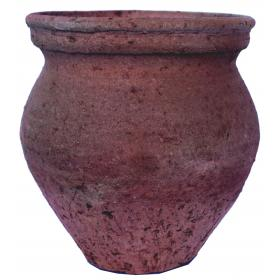 Rustic clay pot