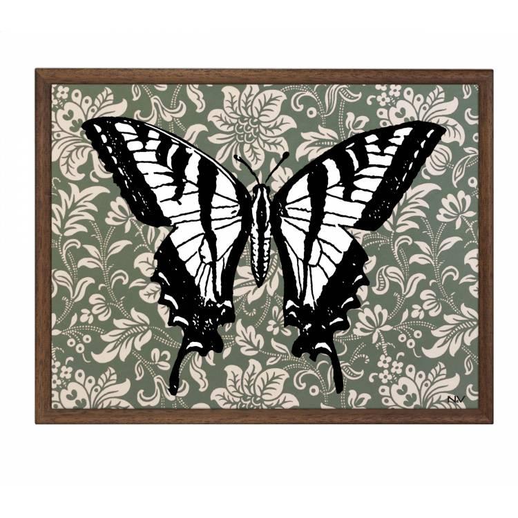 Obraz s rámom - Motýľ