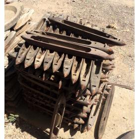 Svietnik zo starého šijacieho stroja - starožitný