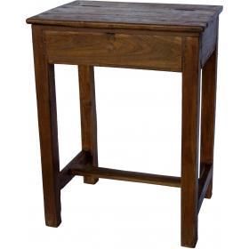 Stará školská lavica