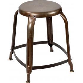 Stolička s chladným retro vzhľadom - jasný práškový nástrek