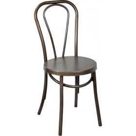 Stolička s mäkkými oblými tvarmi