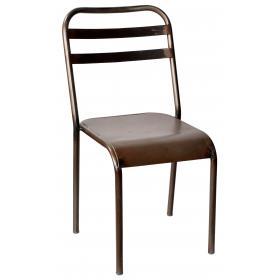 Železná stolička - číre práškové lakovanie