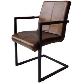 Vintage kožená stolička