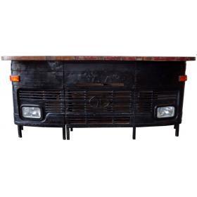 Barový pult z predku starého auta TATA