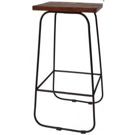 Barová stolička v retro štýle