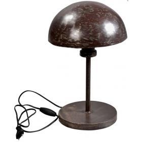 Tischlampe im industriellen Stil