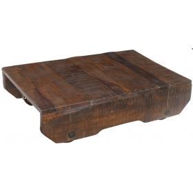 Kávový stolík na kolieskach