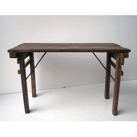 Drevený konzolový stôl