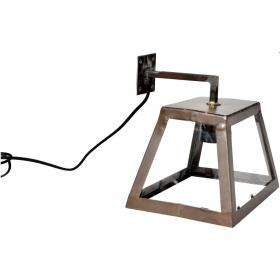 Kovová nástenná lampa