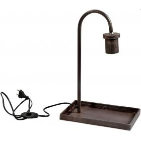 Table lamp in industrial style
