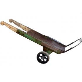 Sackkarre aus Holz/Eisen
