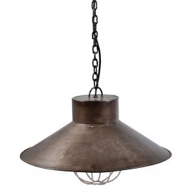 Metal ceiling light