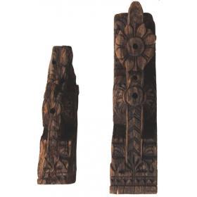 Geschnitzte Holzpaneel