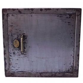 Metal safe deposit box- decoration