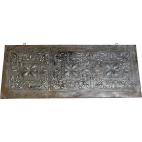 Old ceiling metal plate