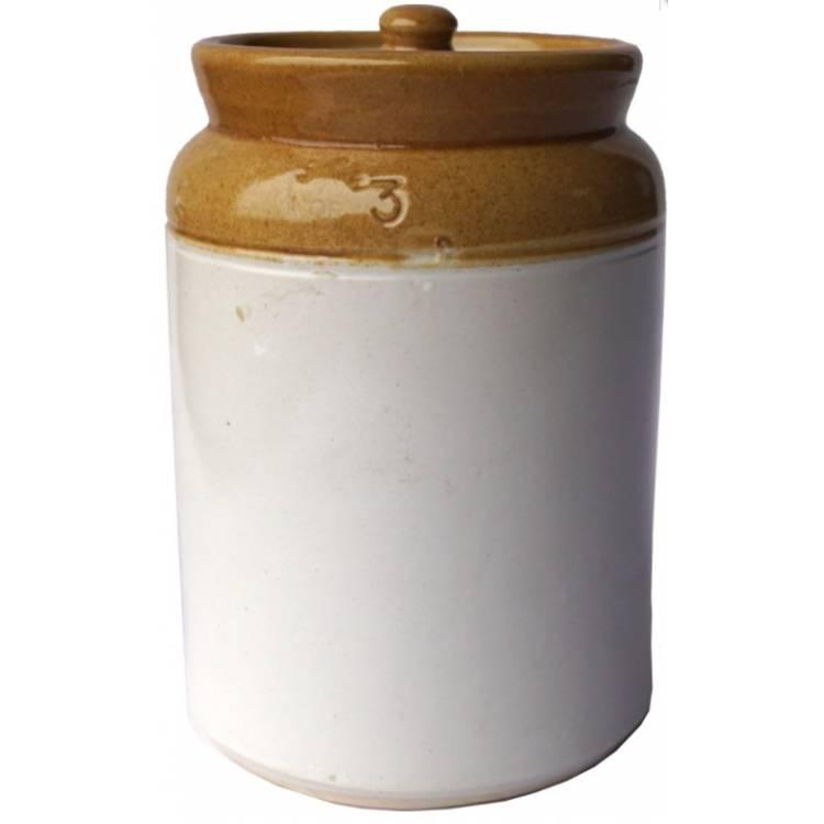 Keramická nádoba s vrchnákom