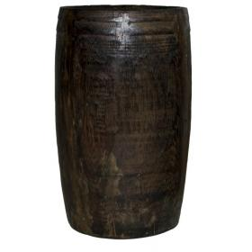 Dark wood container