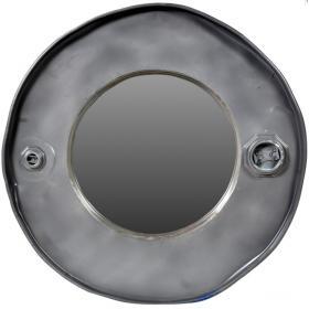 Spiegel in Metallrahmen