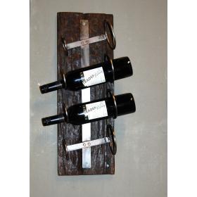 Rustikálny držiak na víno
