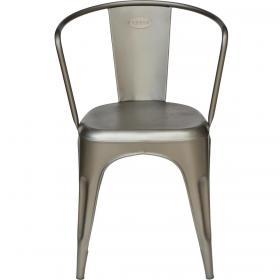 Železná vintage stolička - matná
