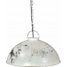Ceiling lamp in industrial style - antique white
