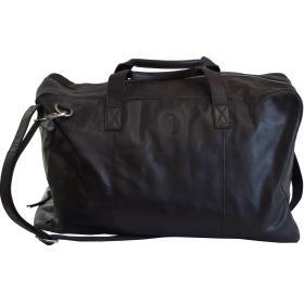 Travelbag - Milo - čierna koža