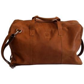 Travelbag - Milo - hnedá koža